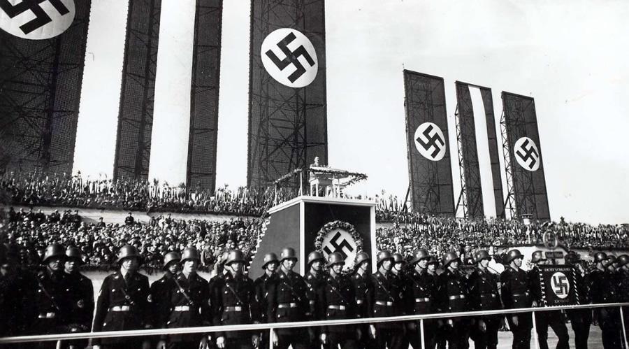 Obchody święta pracy, 1 maj 1934 rok, Berlin