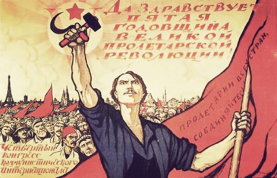 5 lat Rewolucji Październikowej