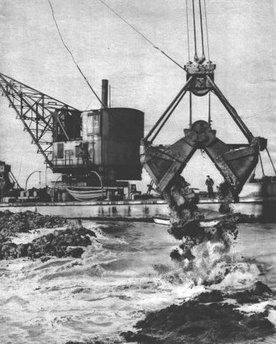 Budowa zapory na zatoce Zuiderzee