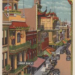 Chinatown, San Francisco (pocztówka)