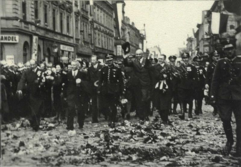 Cieszyn w dniu 02 października 1938 roku