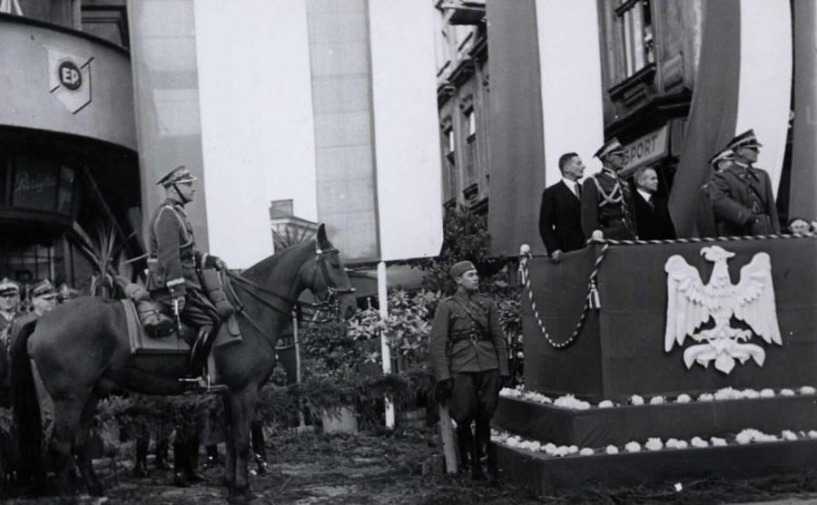 Cieszyn październik 1938