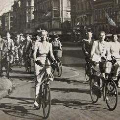 Ruch rowerowy w Kopenhadze - lata trzydzieste XX wieku