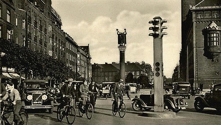 Kopenhaska ulica - lata trzydzieste XX wieku