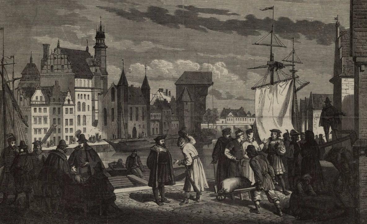 Gdańsk w drugiej połowie XVIII wieku na rycinie Wojciecha Gersona (domena publiczna)
