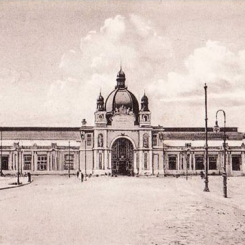 Dworzec kolejowy we Lwowie - pocztówka