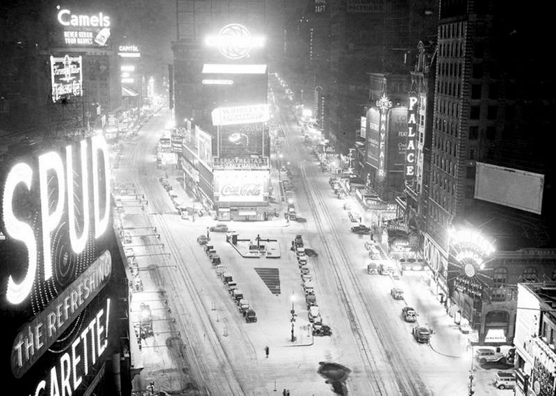 Nowy Jork, Times Square, lata trzydzieste (New York Daily News)