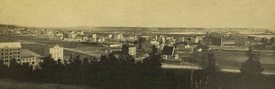 Panorama Gdynia około 1929 roku
