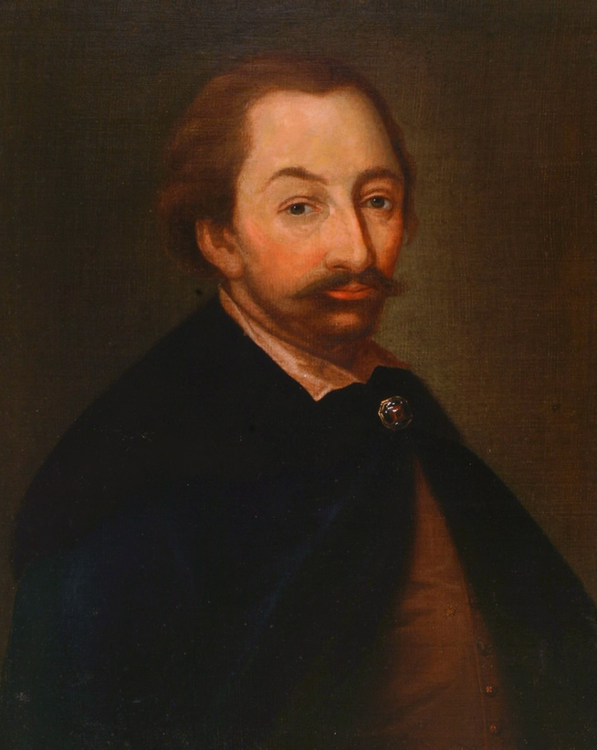 Hetman Stanisław Żółkiewski - obraz olejny nieznanego autorstwa, XVII wiek (domena publiczna)