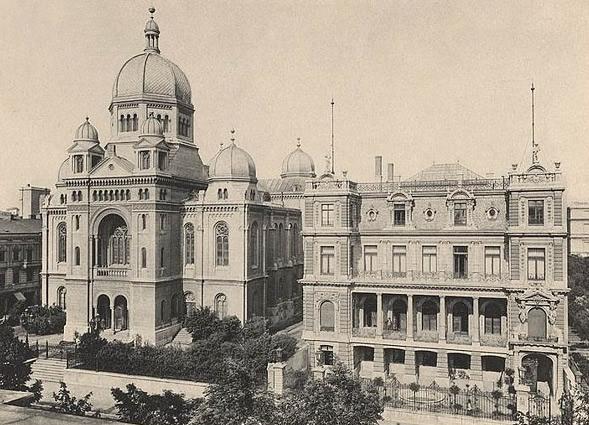 Wielka Synagoga w Łodzi, ul.Spacerowa - pocztówka