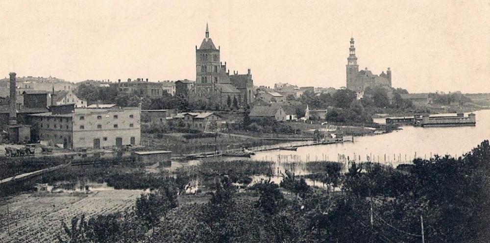 Panorama Chełmży (Culmsee) przed I Wojną Światową