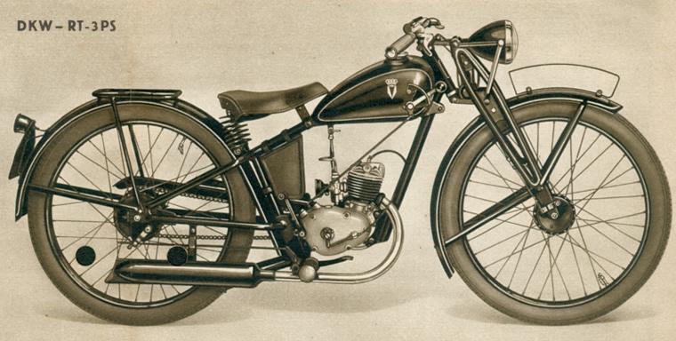Motocykl DKW RT-3PS