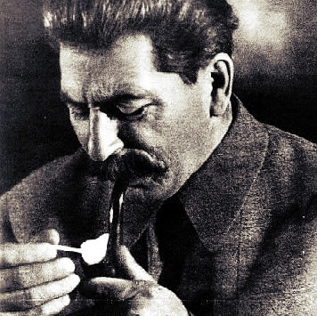 Stalin z fajką