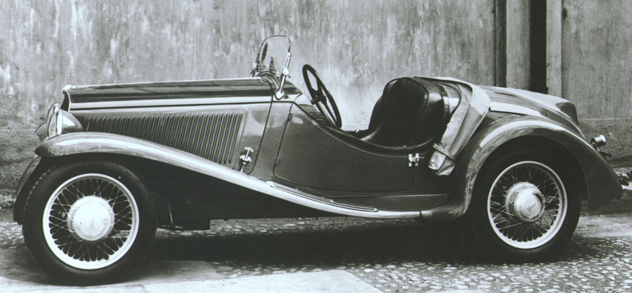 Fiat 508 Balilla Sport 1932 rok