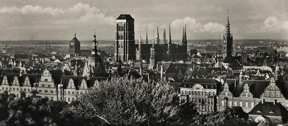 Panorama Głównego Miasta w Gdańsku