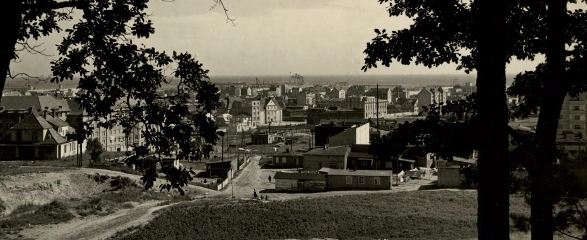 Gdynia, widok ogólny, ok. 1930 roku (domena publiczna)