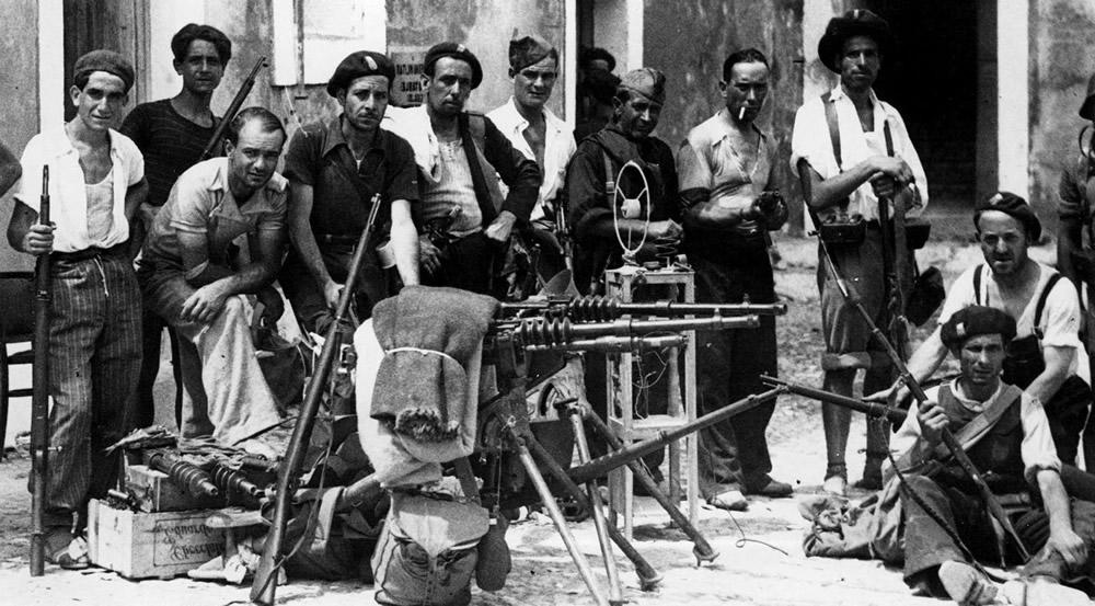 Hiszpańska wojna domowa, żołnierze republikańscy