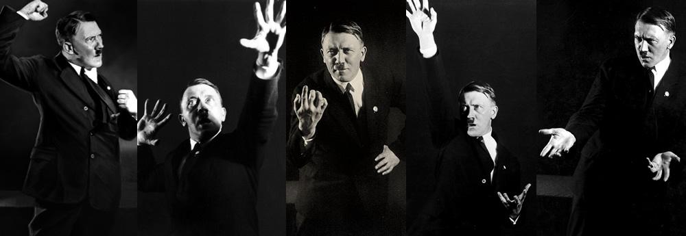 Hitler przemawia
