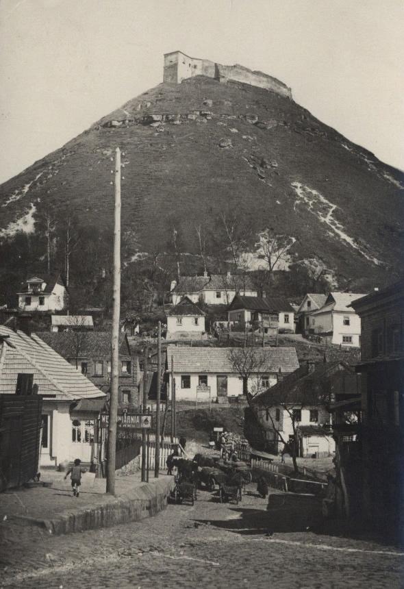 Krzemieniec, Góra Królowej Bony - lata trzydzieste XX wieku (pocztówka)