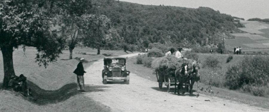 Polskie drogi w latach trzydziestych