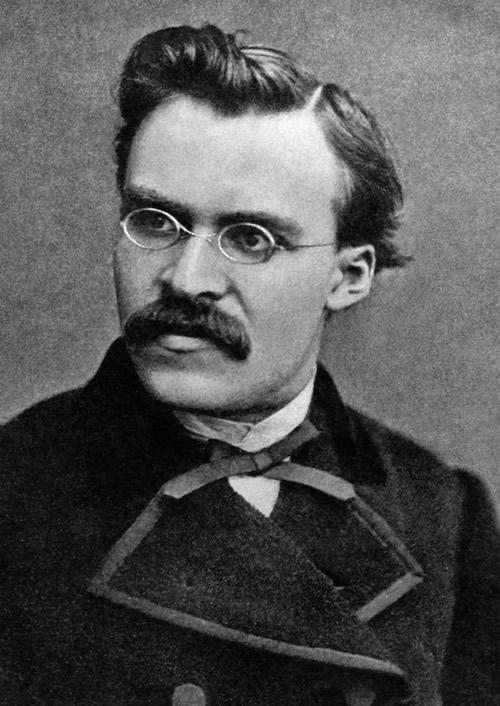 Friedrich Wilhelm Nietzsche w roku 1869