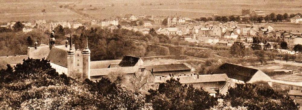 Panorama Oliwy - początek XX wieku (pocztówka)