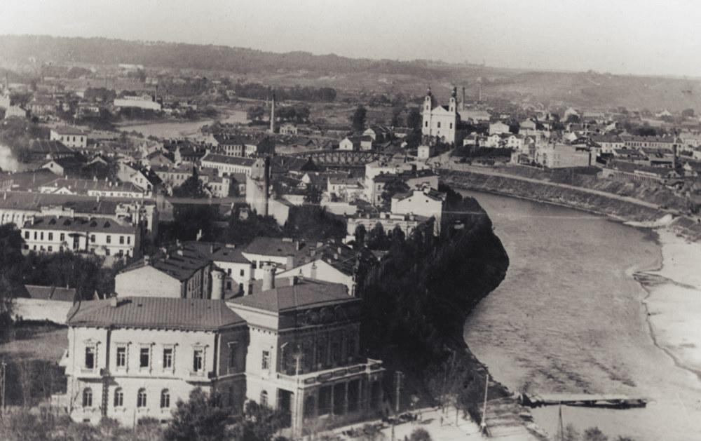 Panorama Wilna - lata trzydzieste XX wieku (źródło: Narodowe Archiwum Cyfrowe)