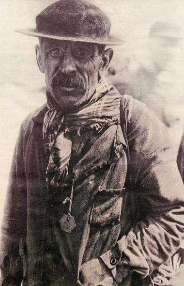 Polski górnik pracujący w kopalniach francuskich
