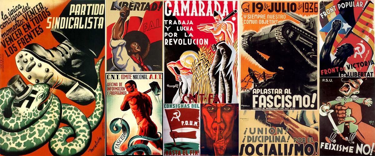 Plakaty propagandowe strony republikańskiej