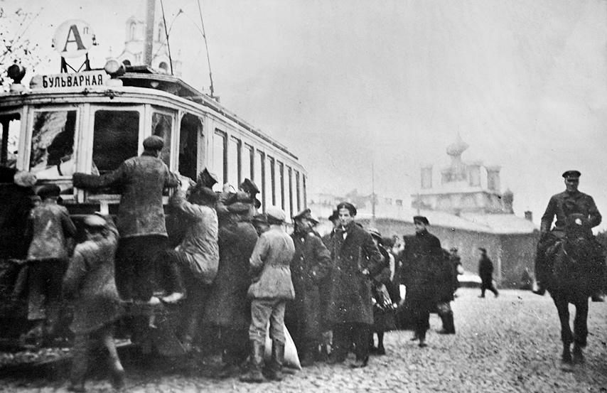 Moskiewskie tramwaje - lata trzydzieste XX wieku