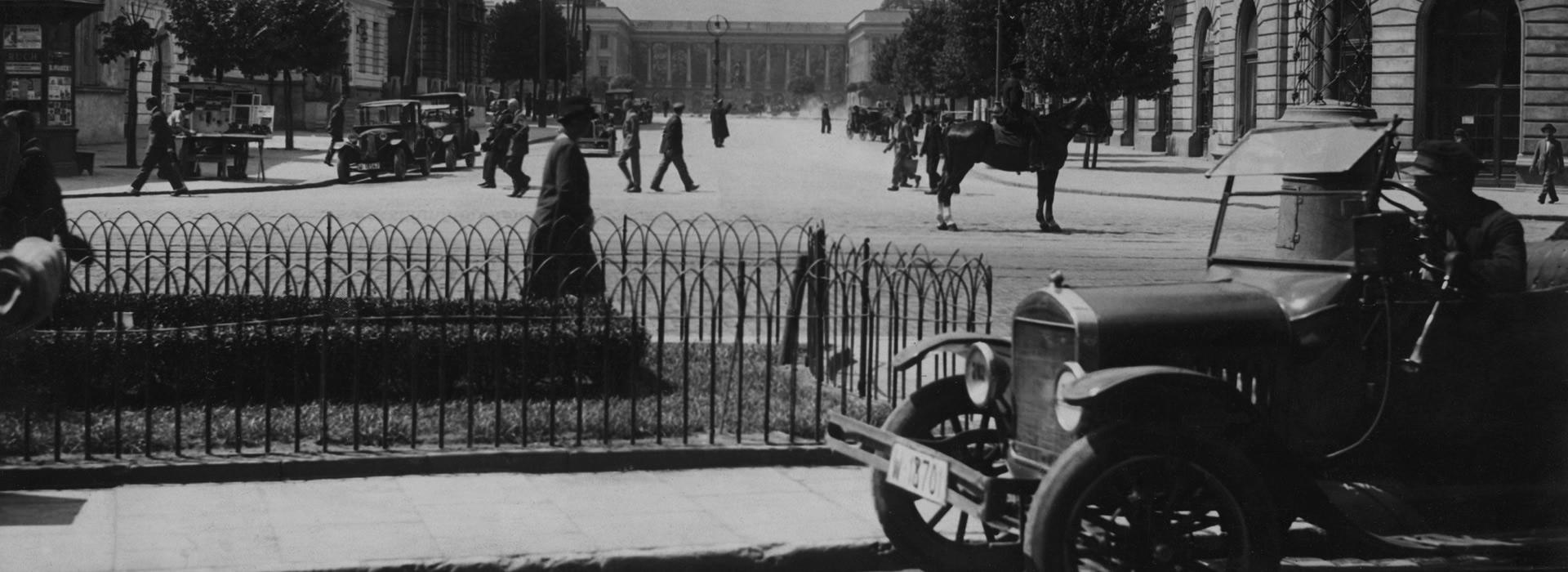 Warszawa, lata trzydzieste, Plac Saski