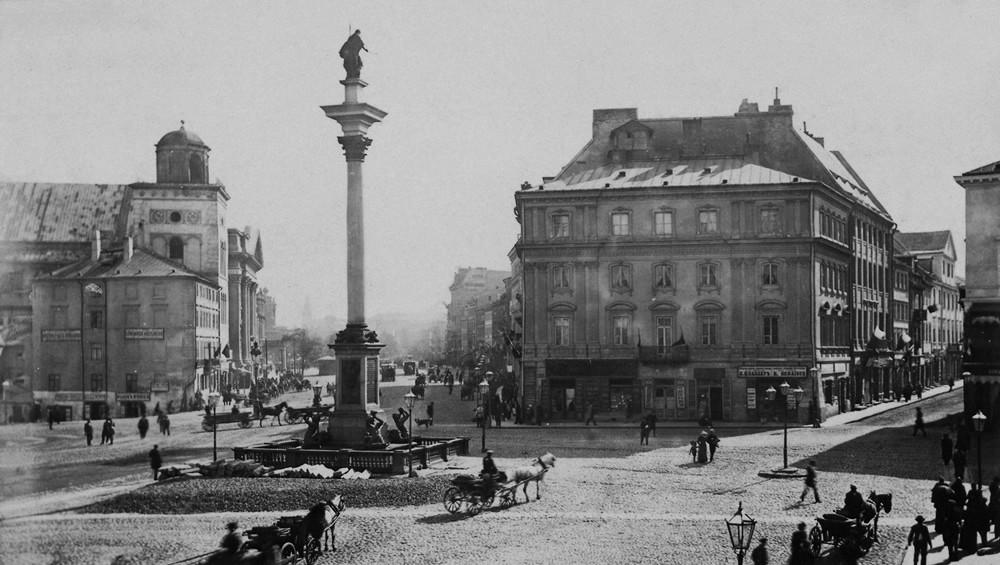 Warszawa w końcu XIX wieku