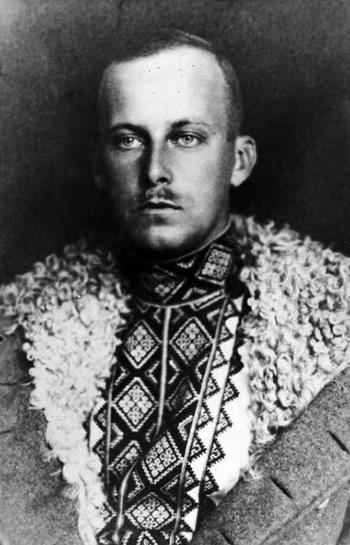 Wilhelm Habsburg ok. 1918 roku