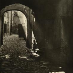Wilno - uliczka w dzielnicy żydowskiej