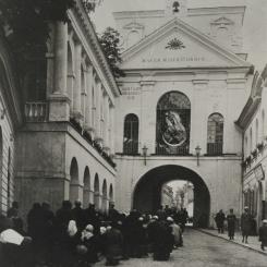 Wilno - Ostra Brama; lata trzydzieste XX wieku (www.polona.pl)