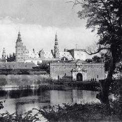 Zamek Kronborg, Dania - pocztówka z pocz. XX wieku