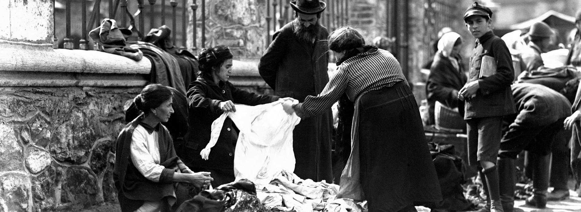 Żydowski handel uliczny